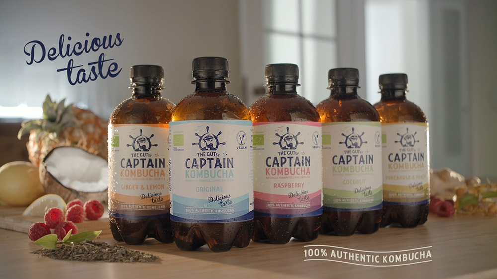 Captain Kombucha - MIND THE GUT!